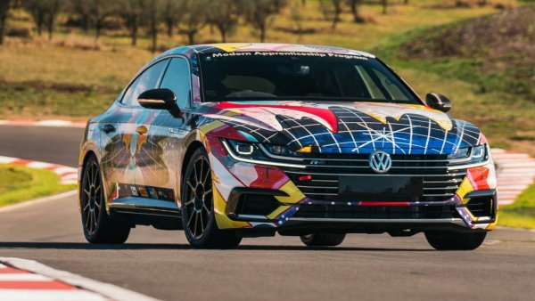 Volkswagen Arteon преобразовали в экстремальный суперкар для World Time Attack Challenge